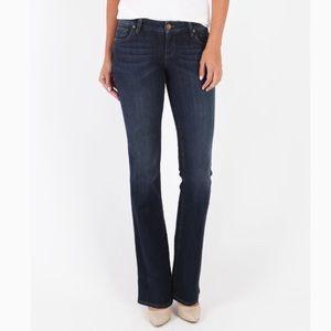Kut from the Kloth Farrah Dark Wash Jeans